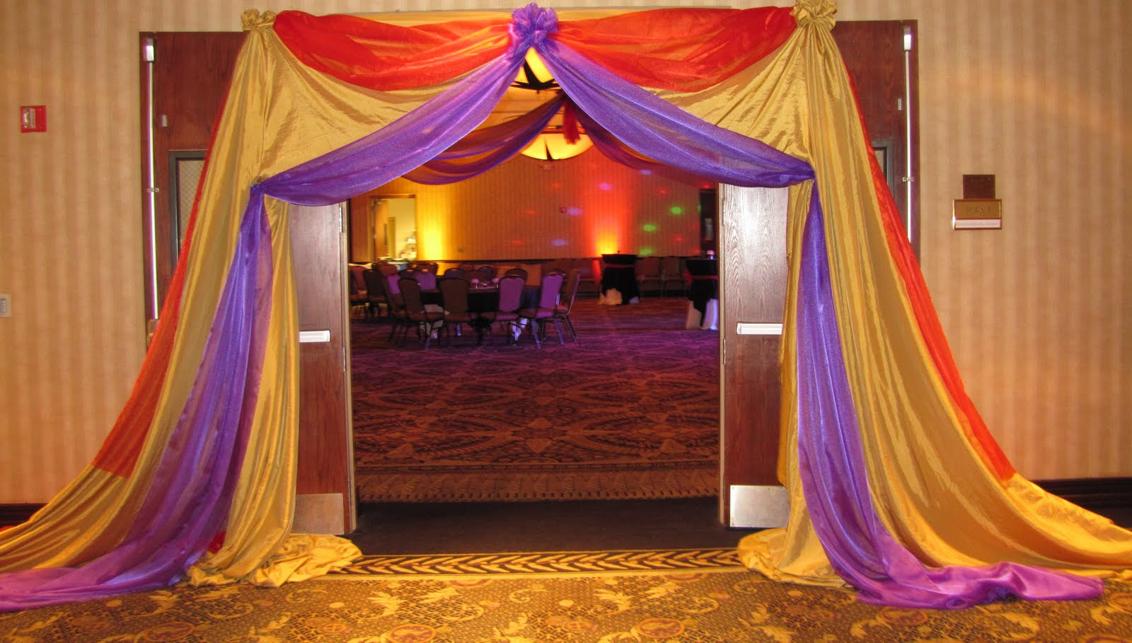 Party People Event Decorating Company Cypress Creek Arabian Nights Prom 2011