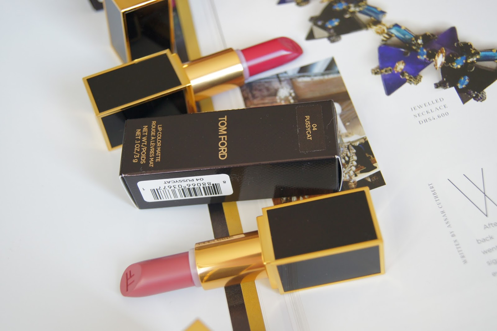 Tom Ford Matte lipsticks
