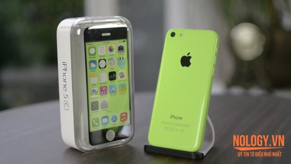 Điện thoại iPhone 5c lock