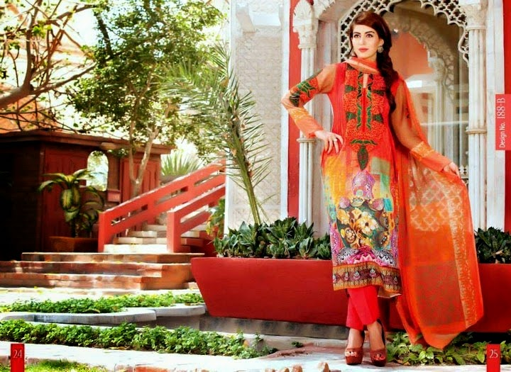 Latest Summer Lawn by Rashid Textile