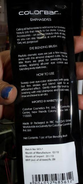 Price of  COLORBAR Eye Blending Brush