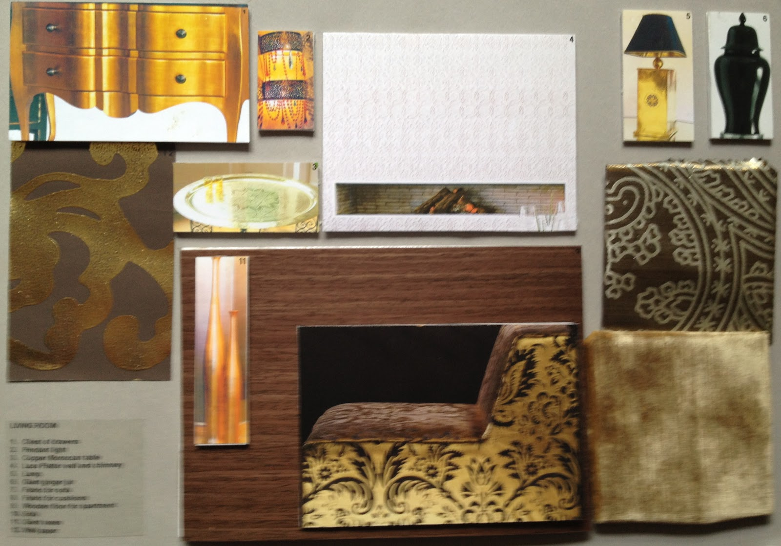 Inspiration, interiors and...