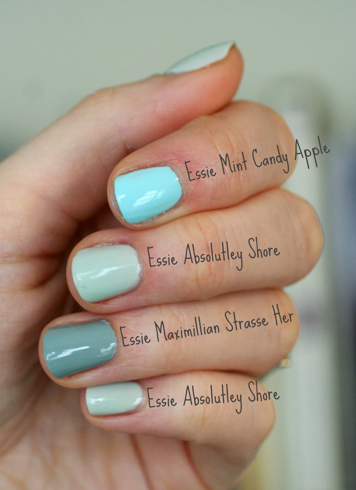 Essie Absolutely Shore | Essie Envy