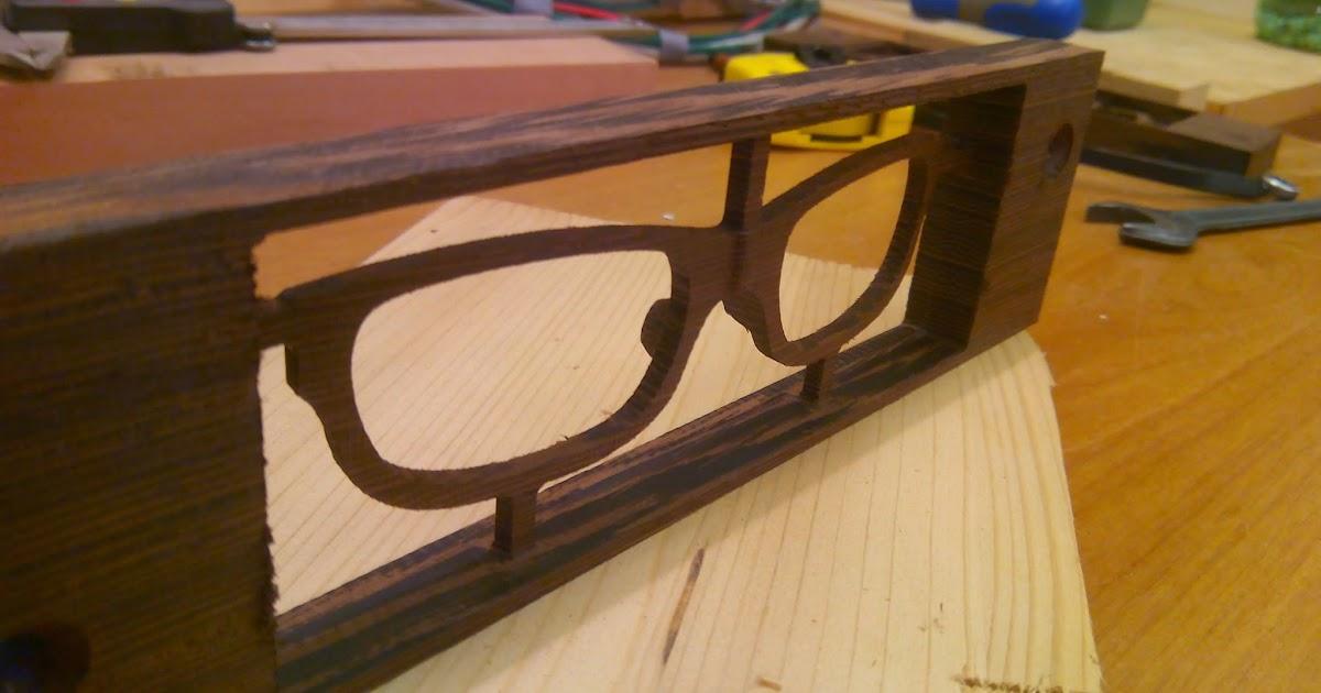 Diy progetti cnc realizzare una montatura per occhiali - Realizzare un tavolo in legno ...