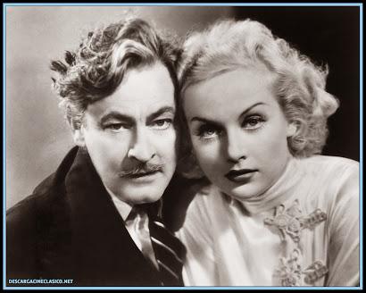 """John Barrymore y Carole Lombard en """"La comedia de la vida"""""""