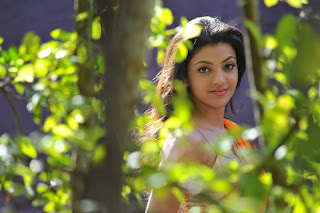 Kajal Agarwal looking Hot in Saree