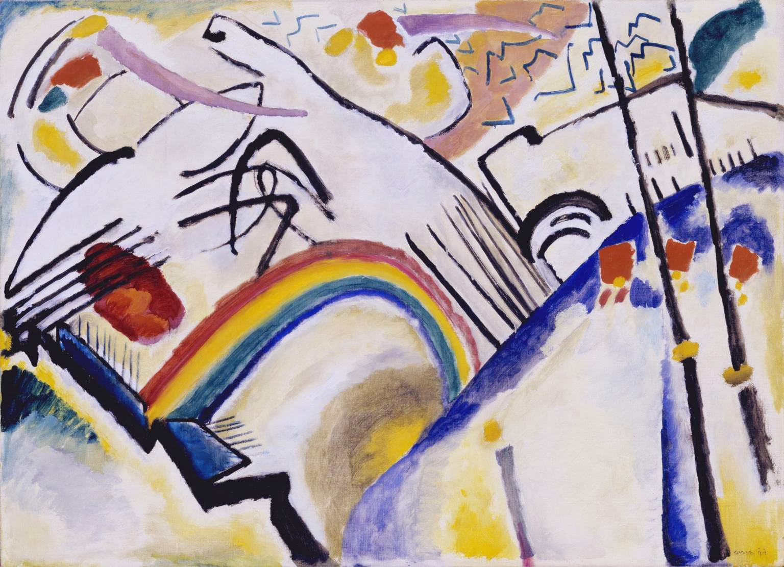 Vassily Kandinsky, Cosacos (1910-1911), Tate Modern, Londres