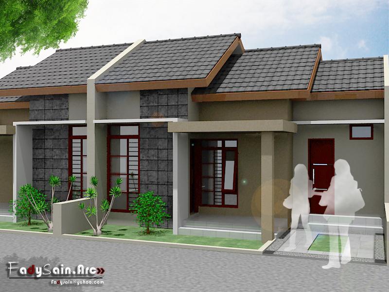 rumah type 45 sahl 3d
