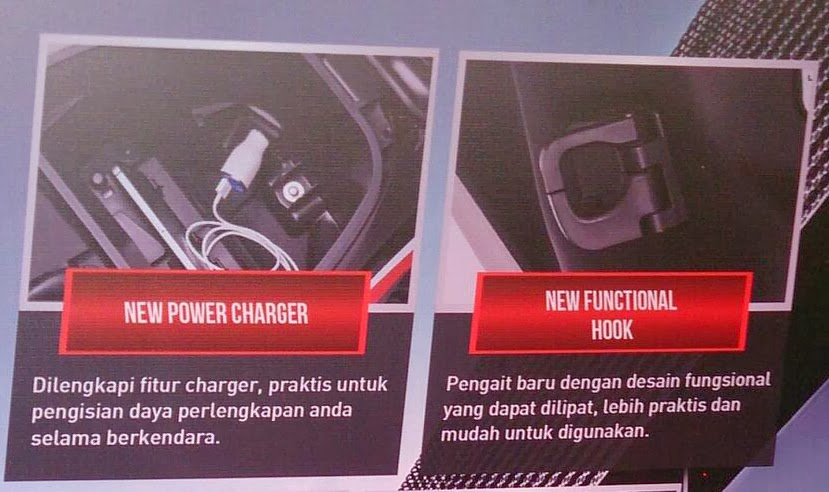 dua fitur baru pada New Supra X 125 FI