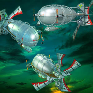 "Free scrapbook ""Zeppelins"" from mgtcsdigitalartstuff High Q"