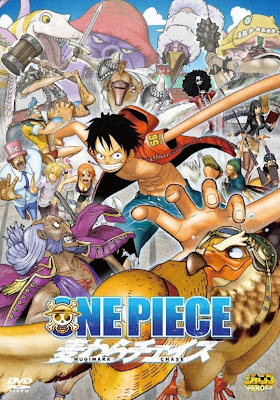 Cover One Piece 3D Straw Hat Chase