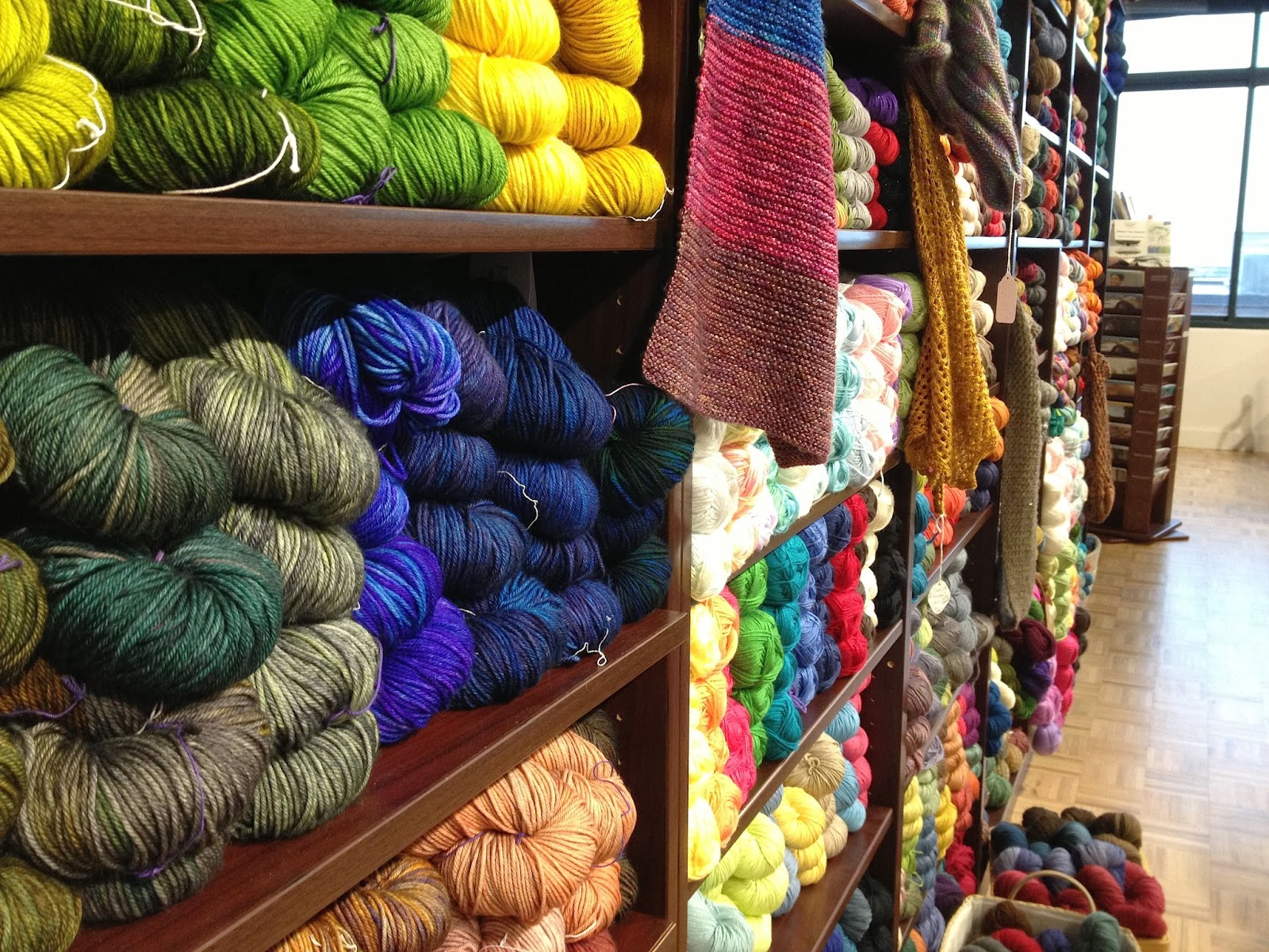 Illuminate Crochet: My Local Yarn Store
