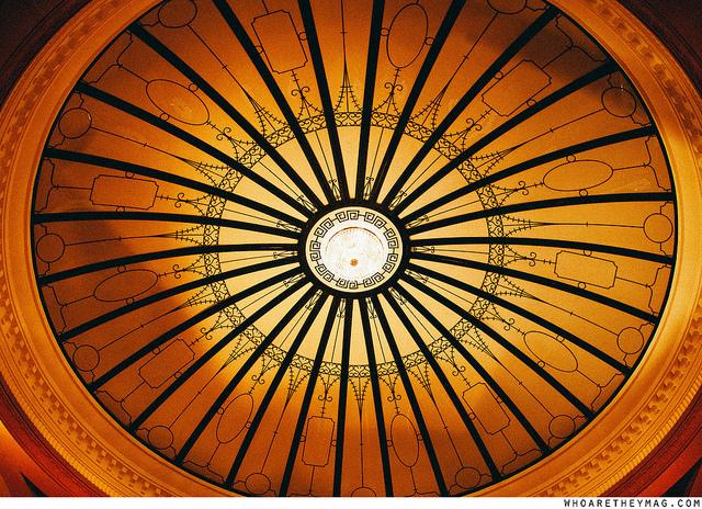 Потолок над парадной лестницей Титаника