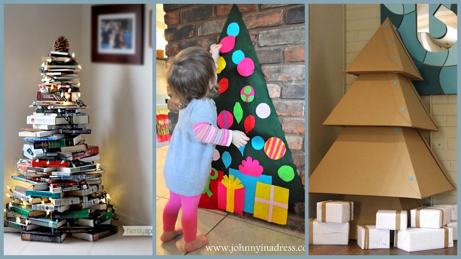 le carnet de janane des id es pour vos sapins de no l sans pine. Black Bedroom Furniture Sets. Home Design Ideas