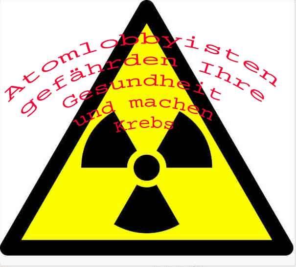 Atomkraftgegner und -lobbyisten