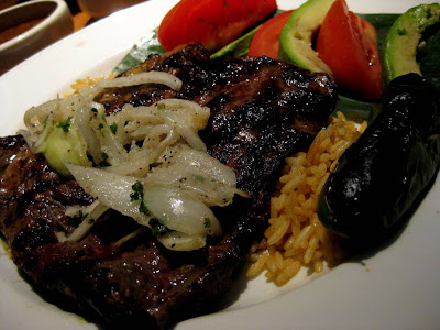 Carne Asada at Cantina Laredo in Chicago, IL - Photo by Michelle Judd of Taste As You Go