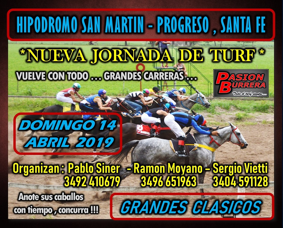 PROGRESO - 14 DE ABRIL  2019