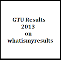 GTU Exam Results