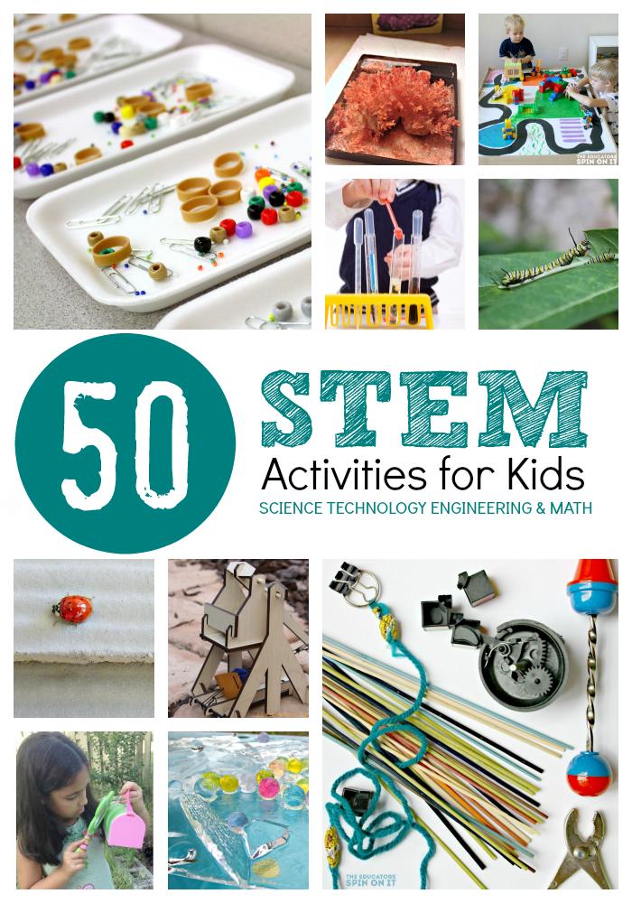 stem activities for kindergarten pdf