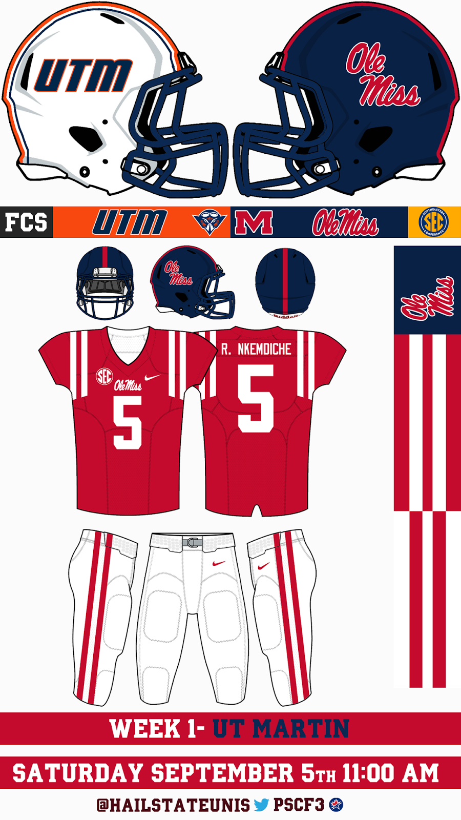 Ole miss gameday colors 2015 - Game Photos