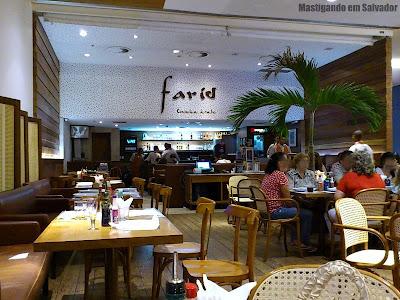 Farid Cozinha Árabe: Ambiente