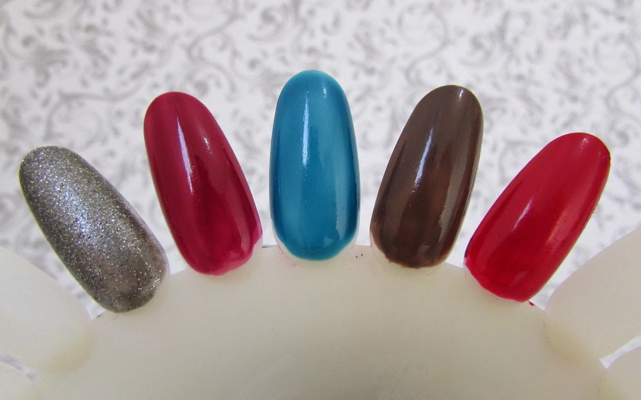 cores, esmalte, usar, inverno