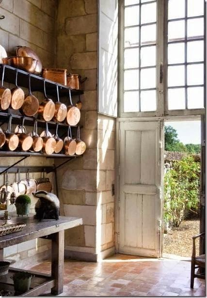 7 Ways To Display Pots And Pans In The Kitchen