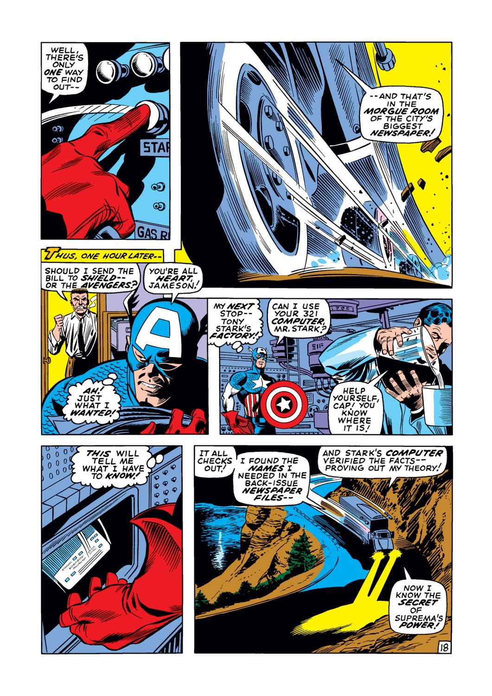 Captain America (1968) Issue #123 #37 - English 19