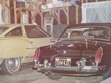 My MG and my folks Pontiac!