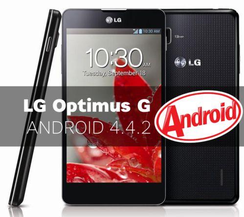 Aggiornamento Android KitKat per Lg Optimus G