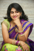Krishnaveni glam in half saree-thumbnail-10