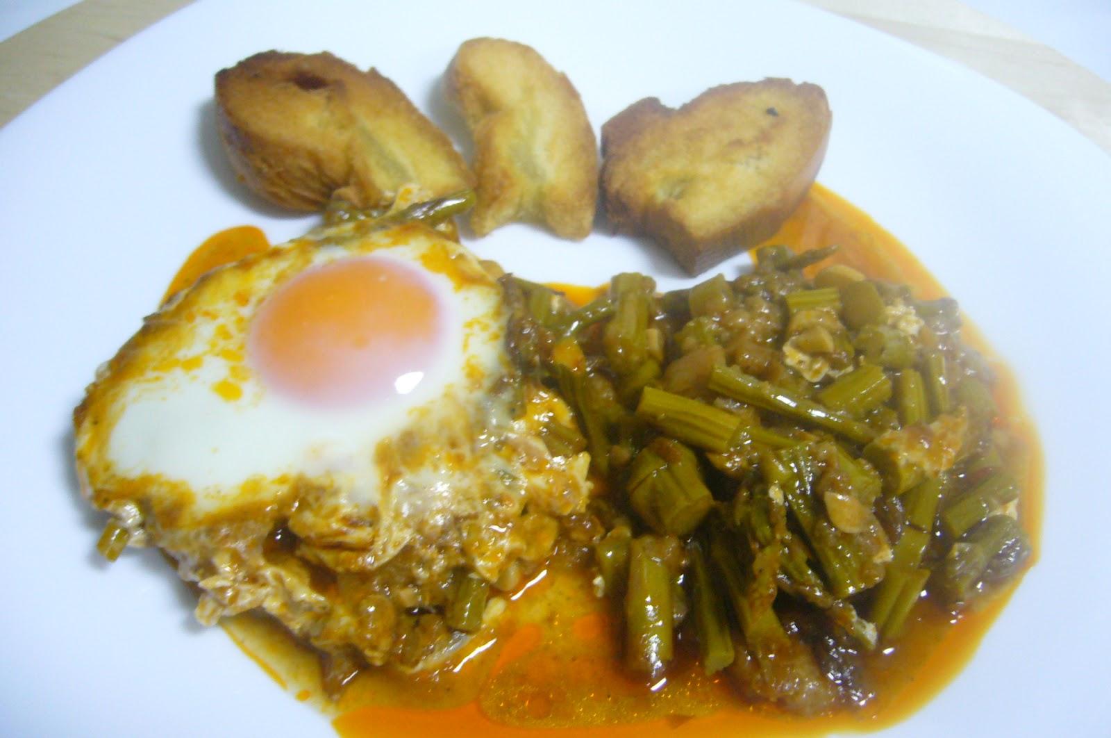 Cocina facil con dunia trigueros esparragados con huevo - Comidas con esparragos ...