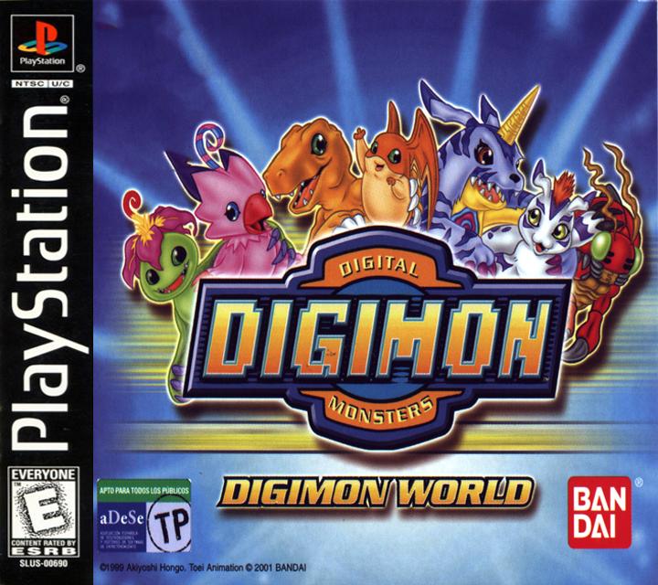 Descargar Digimon World  PAL   Espa  Ol   PSX   FD  Gratis  Juegos