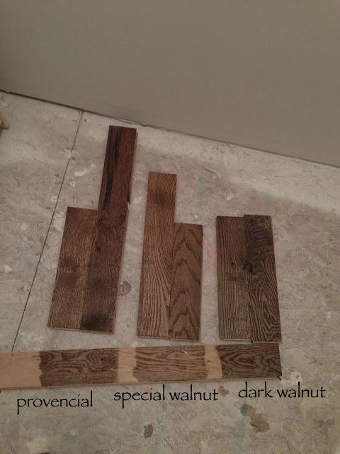 Dark Walnut Floor Stain vs Jacobean