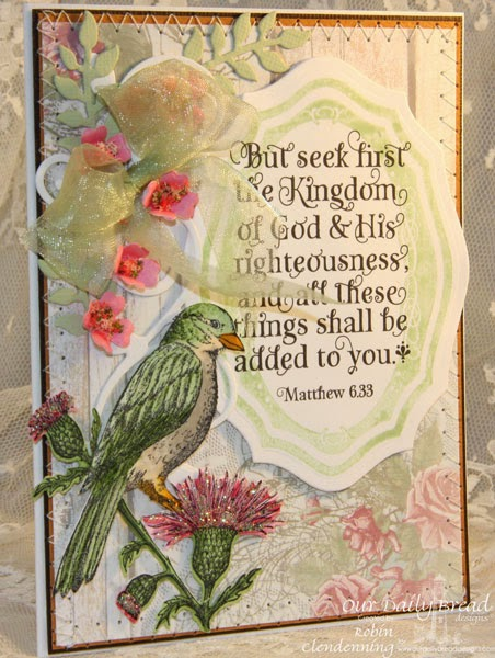 Our Daily Bread Designs, God Verses, Elegant Oval Frames, He Watches Me, Sparrow, Ornamental Crosses, Fancy Foliage, Elegant Ovals, Shabby Rose, Designed by Robin Clendenning