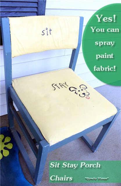 Condo Blues Diy Sit Stay Porch Chairs