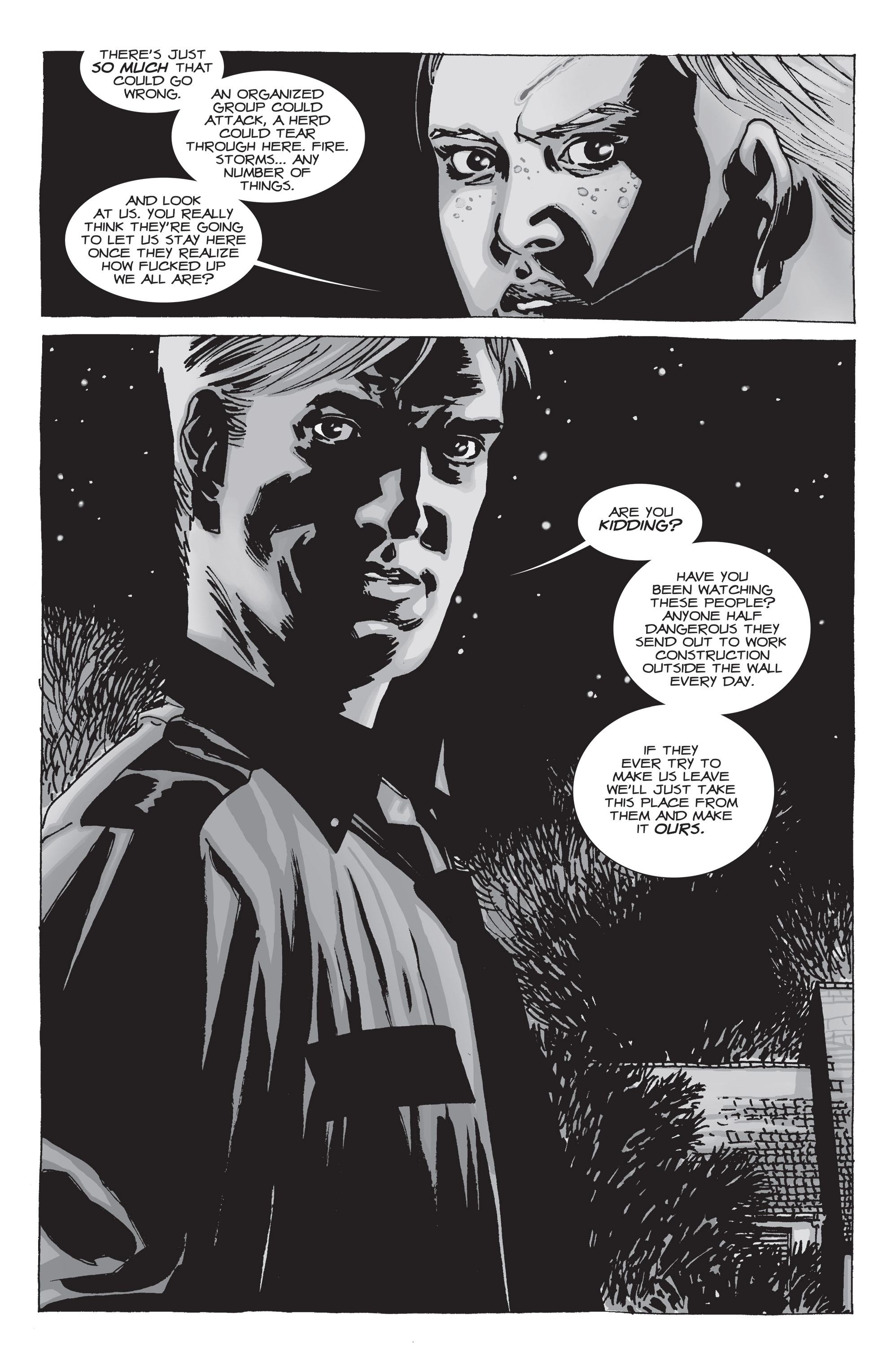 The Walking Dead Issue #71 Page 22