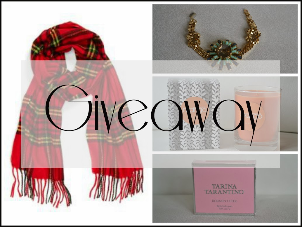 tartan scarf giveaway