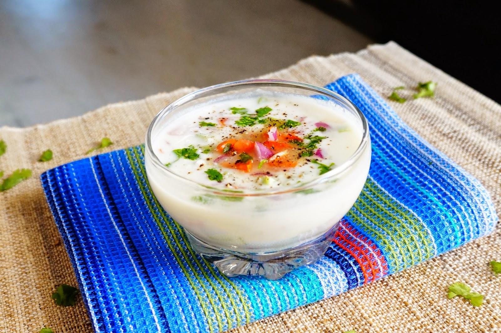 Raita,Yogurt,mix veg raita,dahi,curd,side dish,parantha dahi