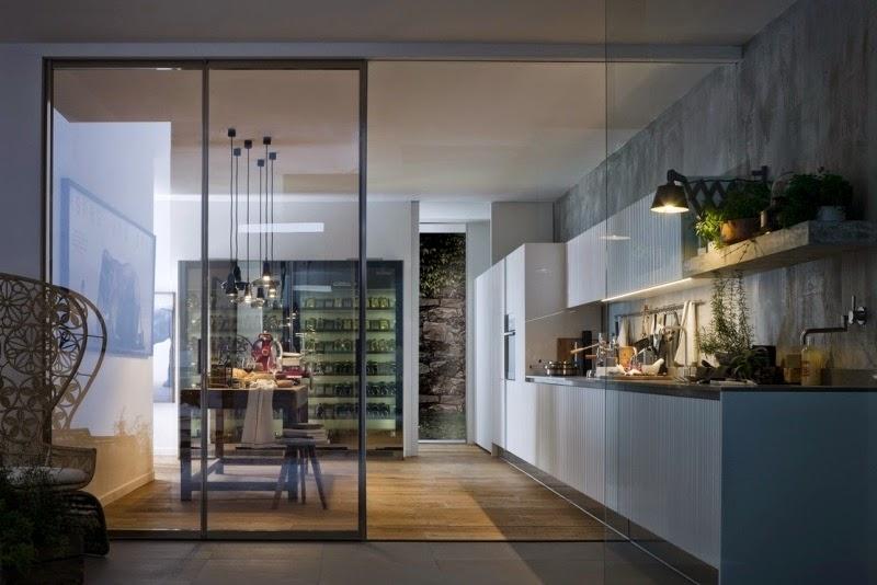 Sala De Estar Y Cocina ~ Una idea práctica y sencilla para dividir la sala de la cocina es