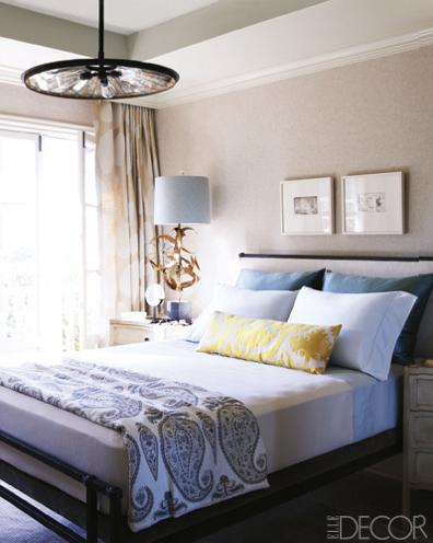 Guest Bedroom Elizabeth Martin  parfaire prettier nicer better faster  cheaper etc Elle. Elle Decor Beds