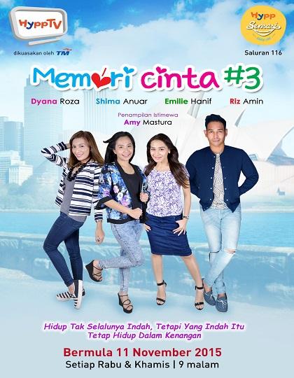 Memori Cinta #3 by JNI Creative Sdn Bhd #marcsjy #memoricinta #hypptv
