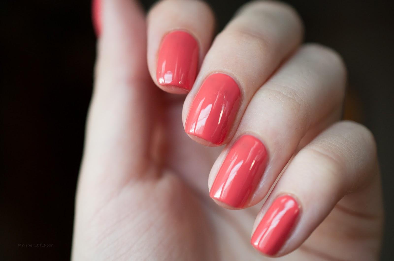 Ногти красного цвета на руках