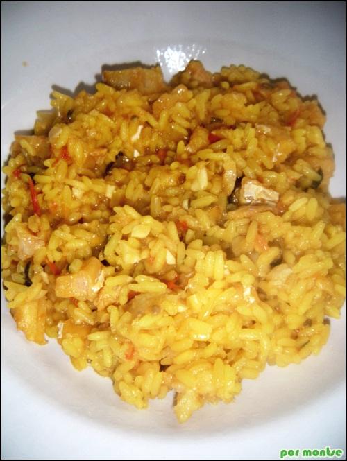 Las recetas de montse arroz con bacalao - Arroz con bacalao desmigado ...