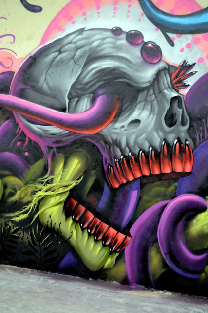 Street Art Collaboration By Jeff Soto And Maxx242 For Goodbye Monopol 2 In Luxembourg City. 10