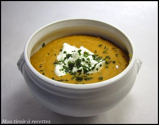 soupe de lentille corail aux épices