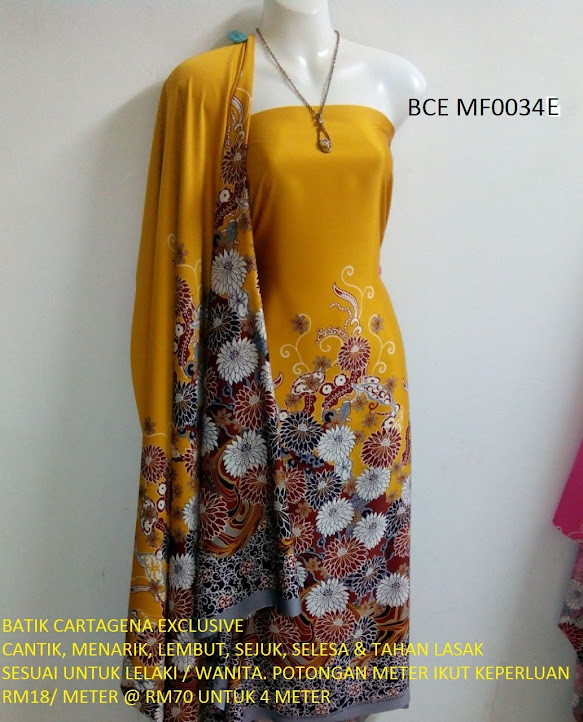 BCE MF0034E: BATIK CARTEGENA EXCLUSIVE