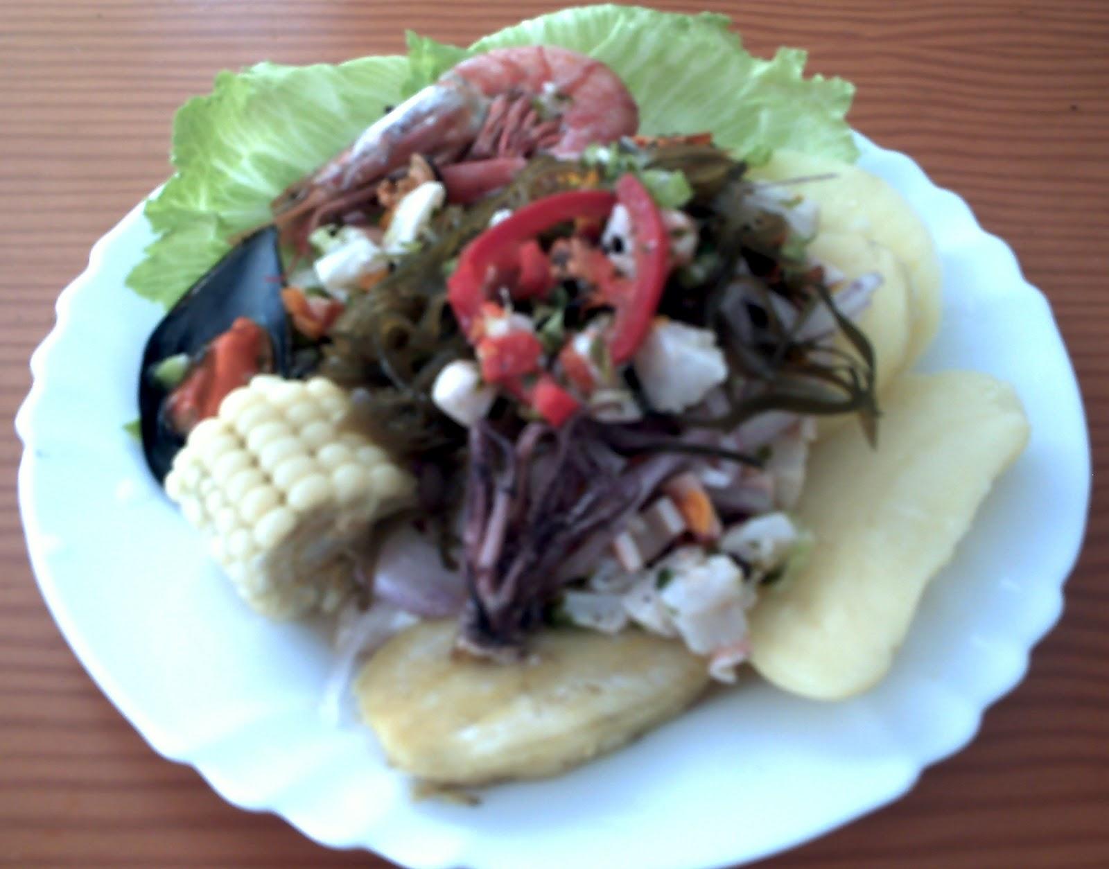 Comida Peruana E Internacional Receta Ceviche Peruano Mixto