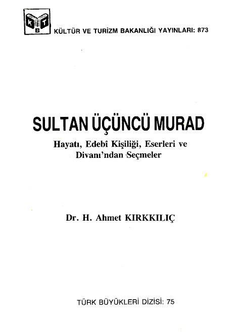 SULTAN ÜÇÜNCÜ MURAD