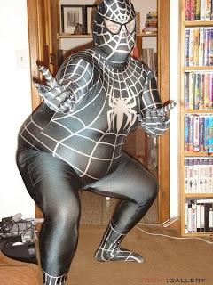 Homem Aranha gordo